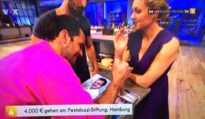 Steffen Henssler erkochte 12.000 Euro für Lecker hoch drei