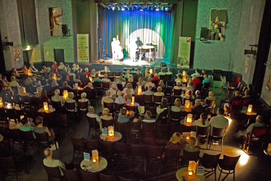 Das Publikum konnte sich über ein buntes Programm freuen.